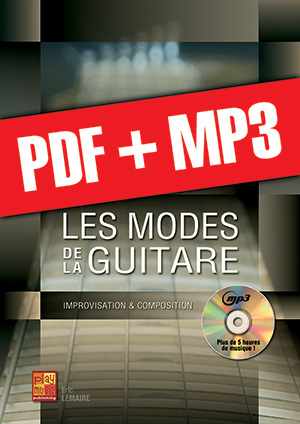 Les modes de la guitare (pdf + mp3)