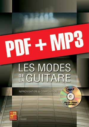 Les modes de la guitare (pdf + mp3)