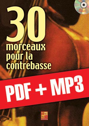 30 morceaux pour la contrebasse (pdf + mp3)