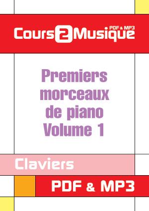 Premiers morceaux de piano - Volume 1