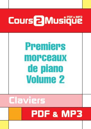 Premiers morceaux de piano - Volume 2