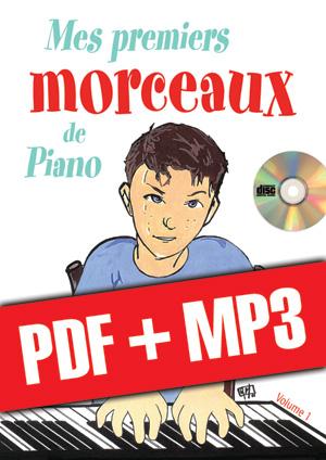 Mes premiers morceaux de piano (pdf + mp3)