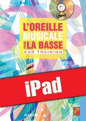 L'oreille musicale pour la basse (iPad)