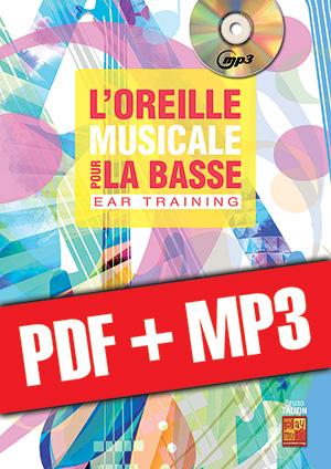 L'oreille musicale pour la basse (pdf + mp3)