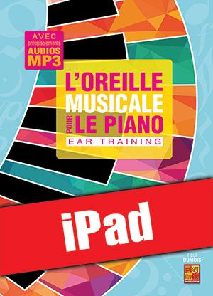 L'oreille musicale pour le piano (iPad)