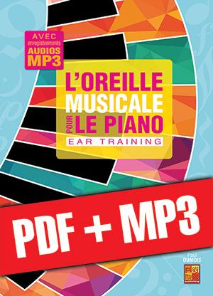 L'oreille musicale pour le piano (pdf + mp3)