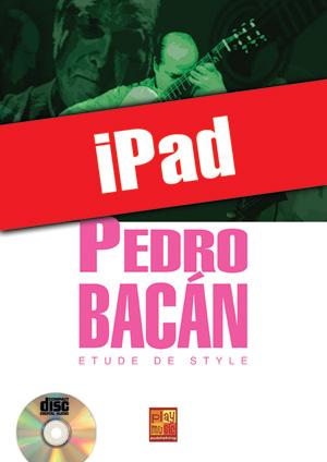 Pedro Bacán - Etude de style (iPad)