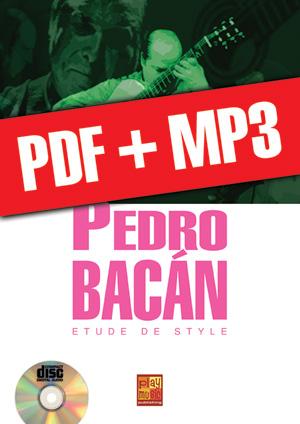 Pedro Bacán - Etude de style (pdf + mp3)