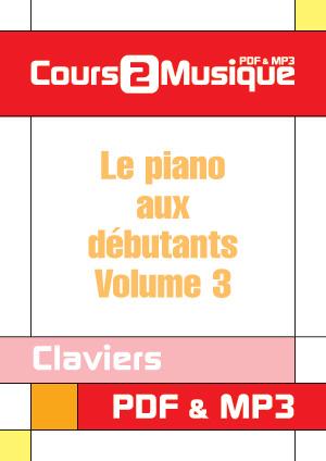 Le piano aux débutants - Volume 3