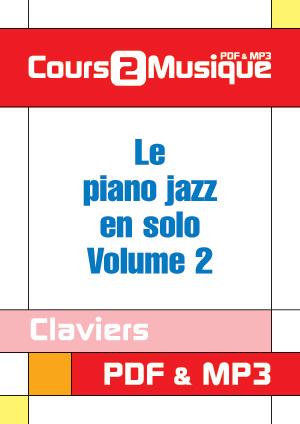 Le piano jazz en solo - Volume 2