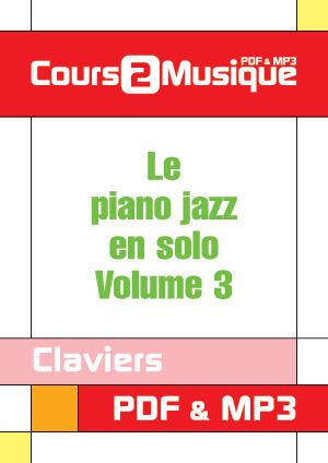 Le piano jazz en solo - Volume 3