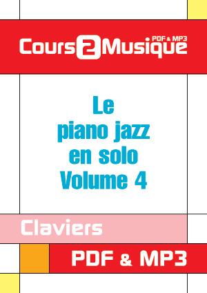 Le piano jazz en solo - Volume 4