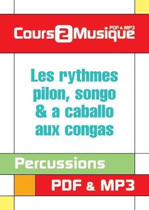 Les rythmes Pilon, Songo & A caballo aux congas