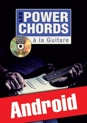 Les power chords à la guitare (Android)