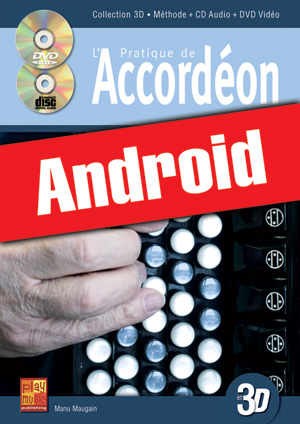 Pratique de l'accordéon en 3D (Android)