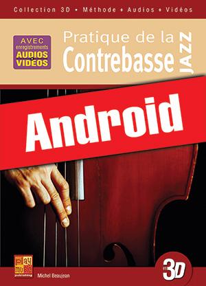 Pratique de la contrebasse jazz en 3D (Android)