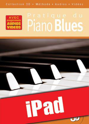 Pratique du piano blues en 3D (iPad)