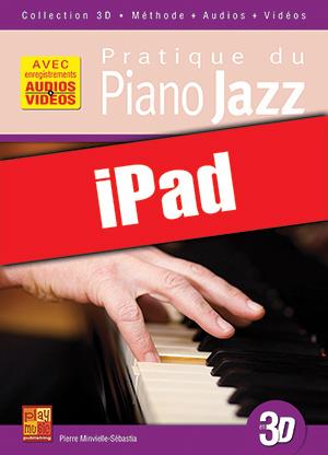 Pratique du piano jazz en 3D (iPad)