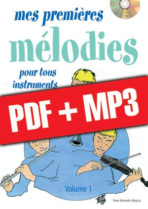 Mes premières mélodies - Flûte (pdf + mp3)