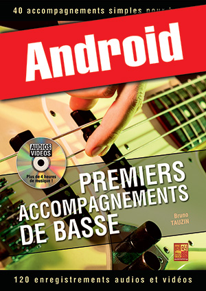 Premiers accompagnements de basse (Android)