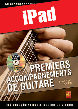 Premiers accompagnements de guitare (iPad)