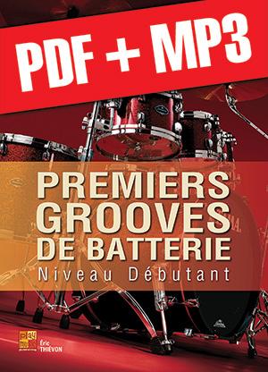 Premiers grooves de batterie (pdf + mp3)