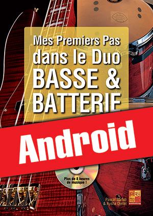 Mes premiers pas dans le duo basse & batterie (Android)