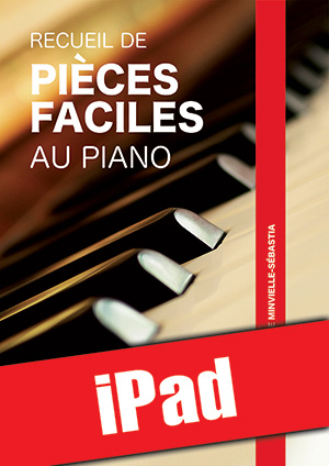 Recueil de pièces faciles au piano (iPad)