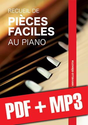 Recueil de pièces faciles au piano (pdf + mp3)