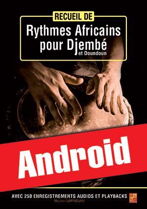 Recueil de rythmes africains pour djembé et doundoun (Android)