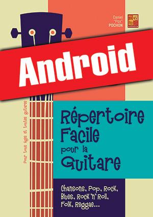 Répertoire facile pour la guitare (Android)