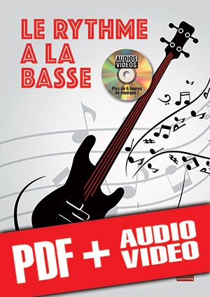 Le rythme à la basse (pdf + mp3 + vidéos)