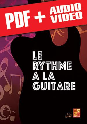 Le rythme à la guitare (pdf + mp3 + vidéos)