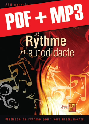 Le rythme en autodidacte - Guitare (pdf + mp3)