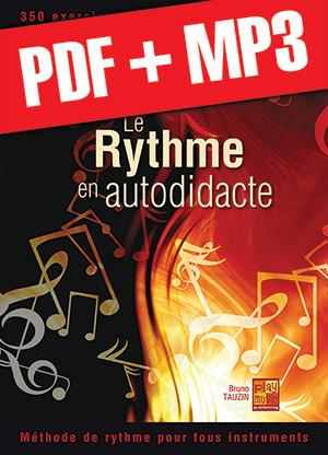 Le rythme en autodidacte - Saxophone (pdf + mp3)