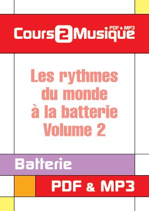 Les rythmes du monde à la batterie - Volume 2