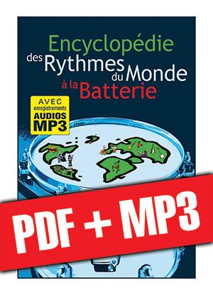 Encyclopédie des rythmes du monde à la batterie (pdf + mp3)