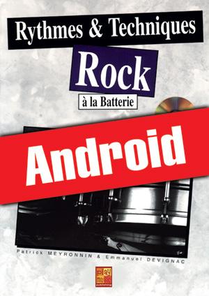 Rythmes & techniques rock à la batterie (Android)