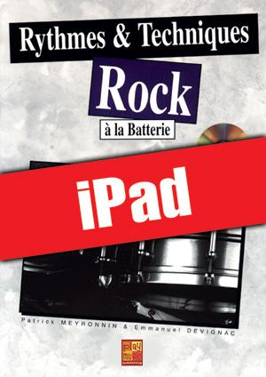 Rythmes & techniques rock à la batterie (iPad)