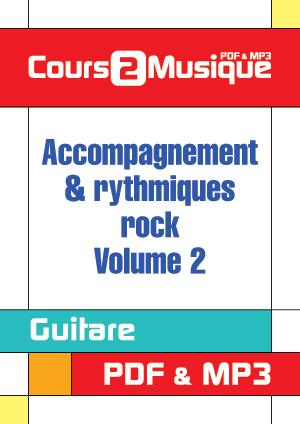 Accompagnement & rythmiques rock - Volume 2
