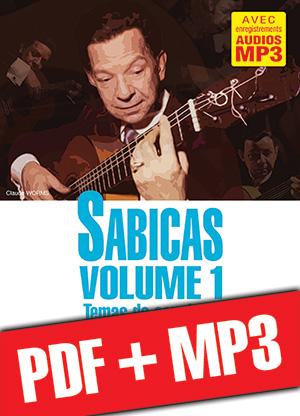 Sabicas Volume 1 - Etude de Style (pdf + mp3)