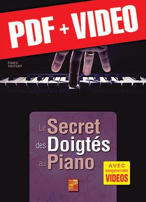 Le secret des doigtés au piano (pdf + vidéos)