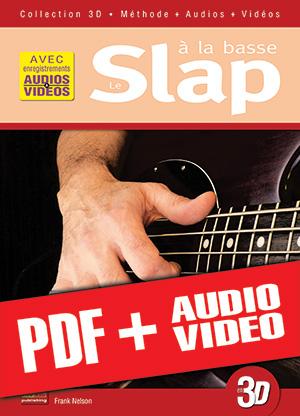 Le slap à la basse en 3D (pdf + mp3 + vidéos)