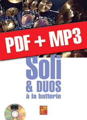 Soli & duos à la batterie (pdf + mp3)
