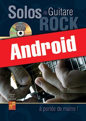 Solos de guitare rock... à portée de mains ! (Android)