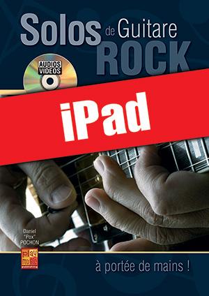 Solos de guitare rock... à portée de mains ! (iPad)