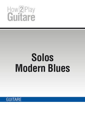 Solos Modern Blues