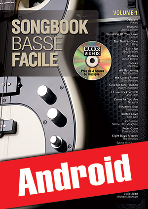 Songbook Basse Facile - Volume 1 (Android)