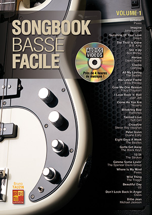 Songbook Basse Facile - Volume 1