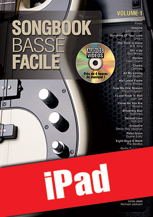Songbook Basse Facile - Volume 1 (iPad)